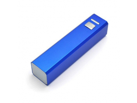 Power Bank с логотипом, синий 3