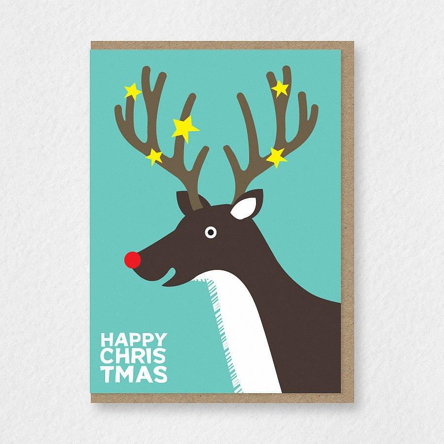 10 оригинальных идей для новогодних открыток. 3