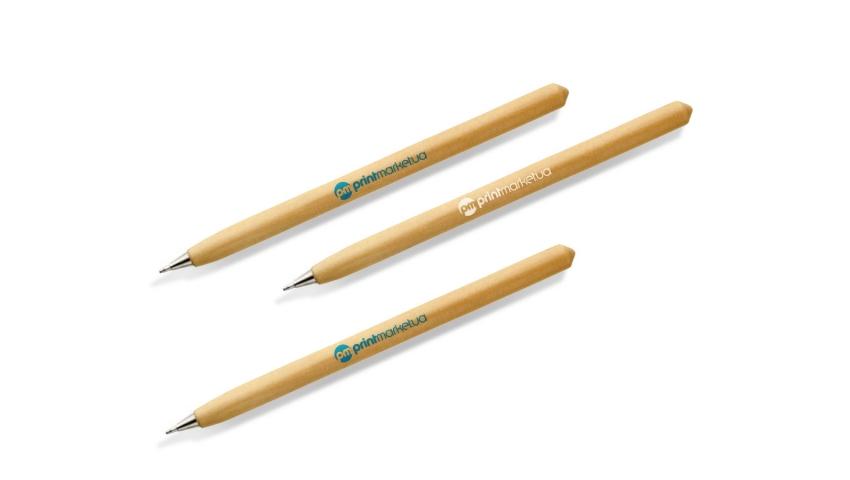 Деревянные ручки с логотипом
