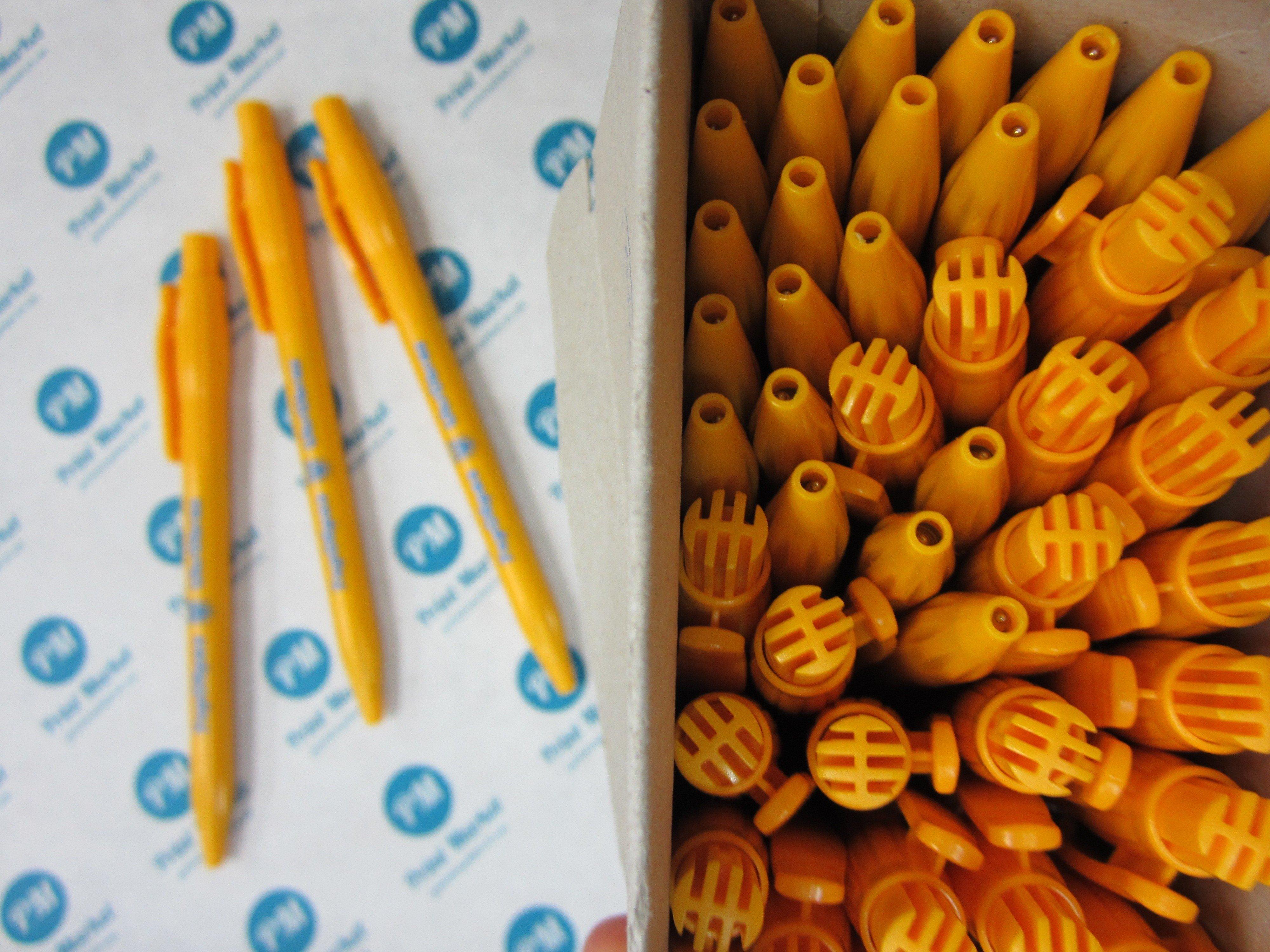 ручкис логотипом