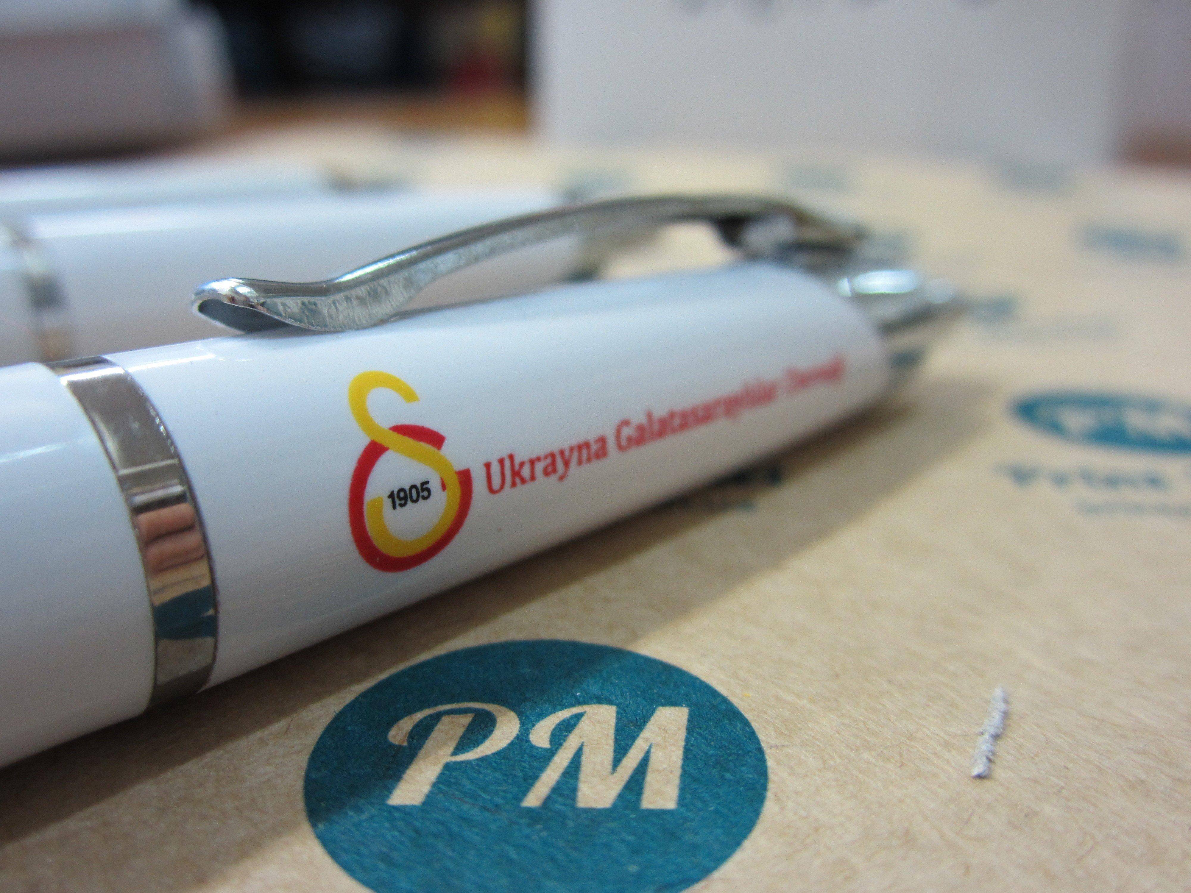 Ручки Киев с логотипом